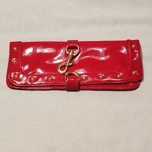 Red Bebe Clutch